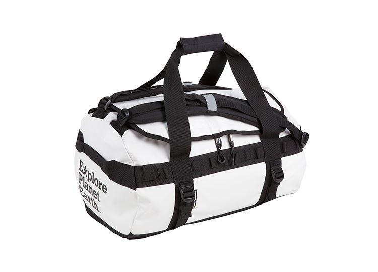 8b3d56e071 Explore Planet Earth Waterproof Gear Bag - Pisces 80L - White ...