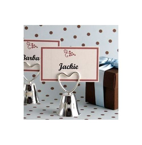 Wedding Bell Placecard Holder Favour  **Sale!**