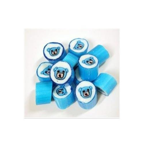 Blue Teddy Bear Rock Candy - 1kg