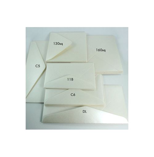Metallic DL Envelopes - Quartz