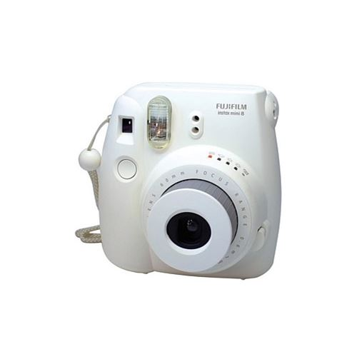 Fujifilm Instax Mini 8 Instant Camera (White)