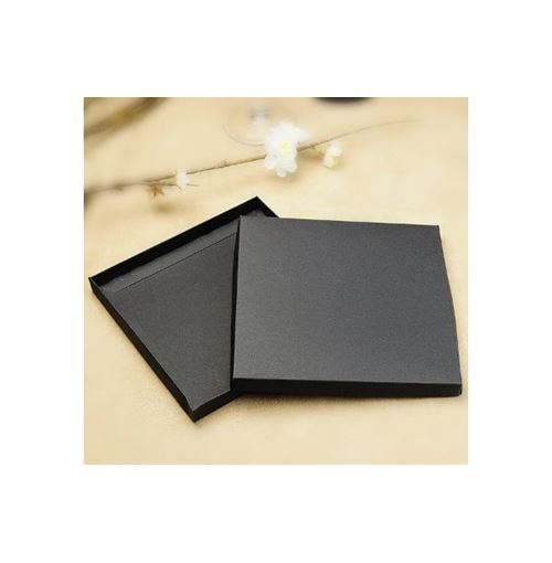 Square Invitation Box - Matte Black **New!**