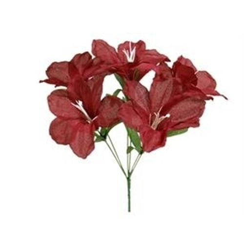Easter lily - burgundy 60pk