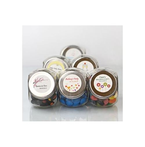 Personalised Wedding Candy Glass Jars **Sale!**