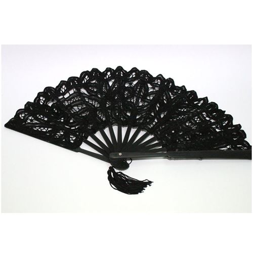 Lace Hand Fan - 3 colours to choose from