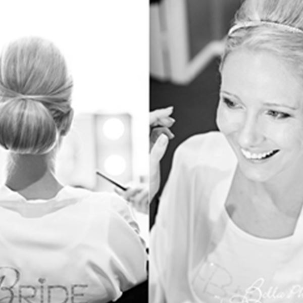 Wedding Hair and Makeup-So Glamorous