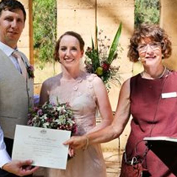 Marriage Celebrant-Kerryn Alexander - Caring Celebrations