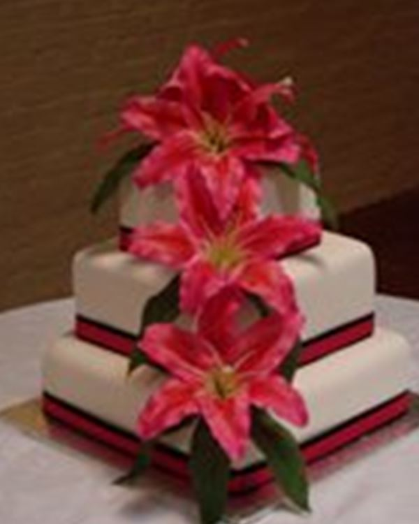 Wedding Cakes-Tracey's Creation Cakes