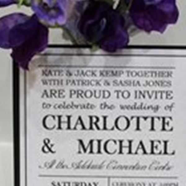 Wedding Invitations-Jeremy's Cards & Gifts