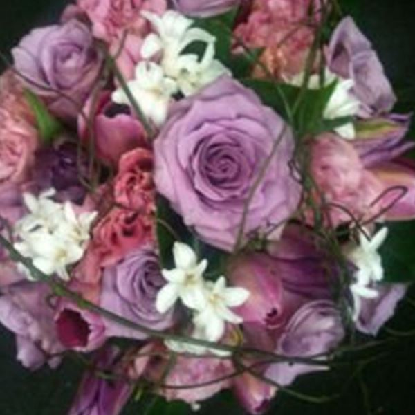 Wedding Flowers-All's Rosy