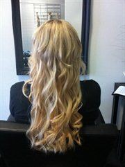 Evolve hair extensions hair and makeup sandy bay easy weddings hair and makeup evolve hair extensions pmusecretfo Images
