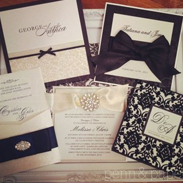 Wedding Invitations-Penn & Paper – Invitations and Event Stationery