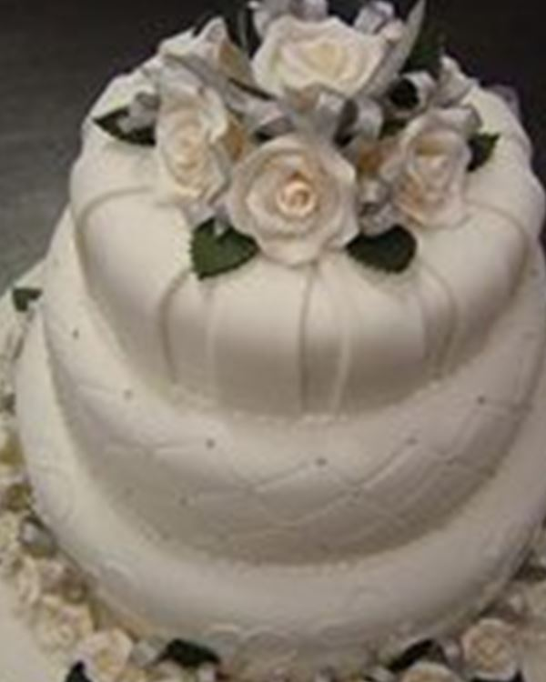 Wedding Cakes-Embellished Cake Creations
