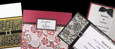 Amazing paper wedding invitations enmore easy weddings wedding invitations amazing paper solutioingenieria Gallery
