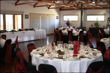 Yering gorge cottages wedding dress
