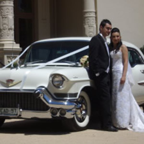 Wedding Cars-Chevy Red Hire